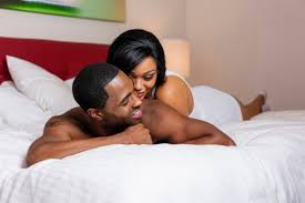 cople on bed